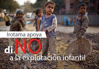 NO a la explotación infantil