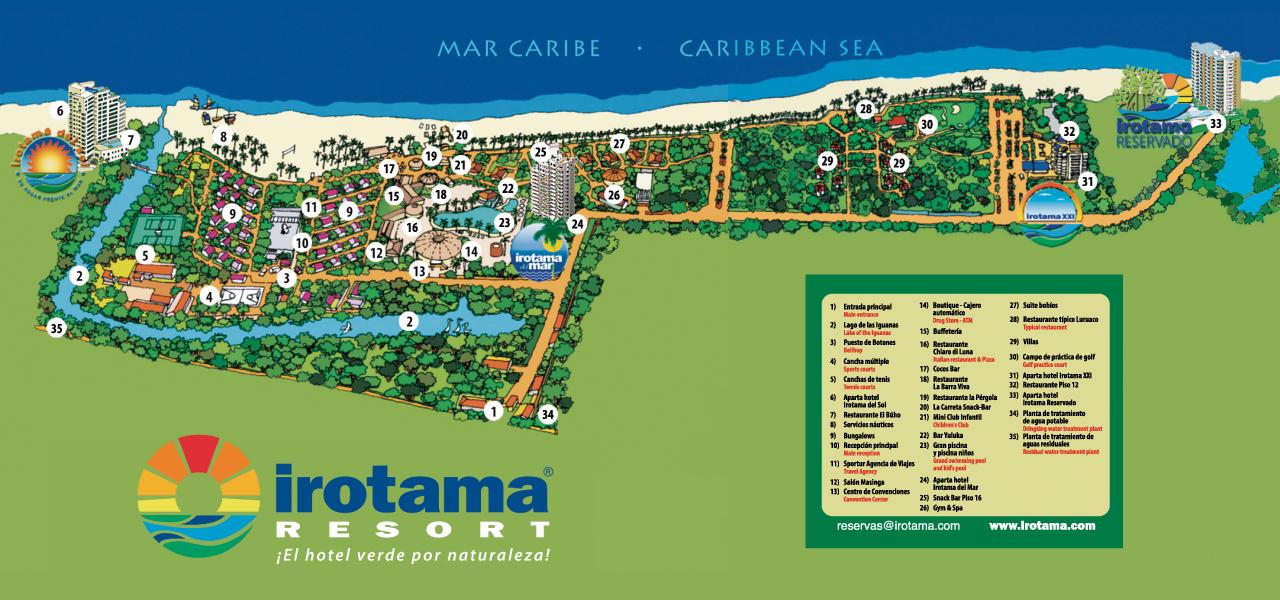 Irotama Mapa